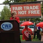 Trade deals tread water on Capitol Hill