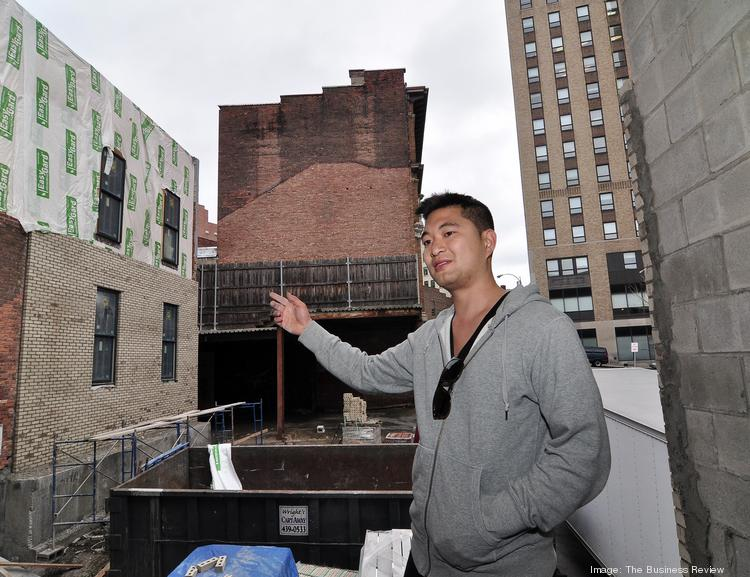 After renovating more than 100 rental units in New York City and Albany's Pine Hills, Patrick Chiou is seizing opportunity downtown.