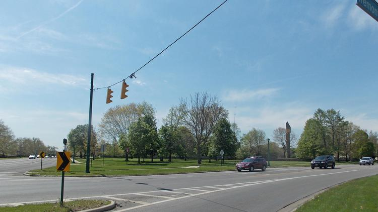"Plans for commercial office development to share the Tremont and Kenny avenues ""point"" next to the Upper Arlington Municipal Services Center suffered a setback."