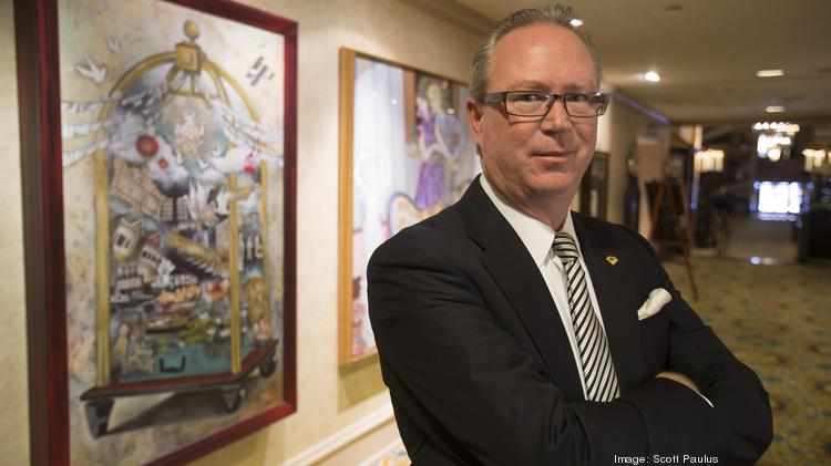 Paul Ohm, general manager at The Pfister Hotel