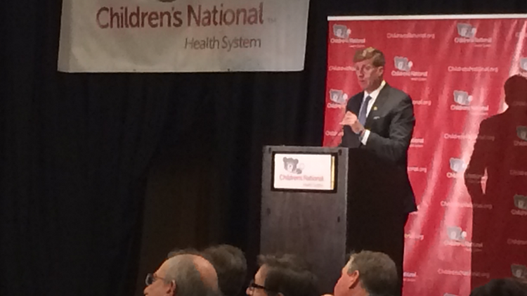 Children's hospitals have to organize politically if they want to solve the problem of unequal pay for mental health care, former U.S. Rep. Patrick Kennedy told summit of hospital representatives in Washington on Wednesday.