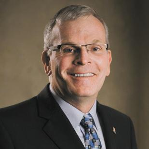 David Collins, the new Sinclair provost, was a student at the college in the 1970s.