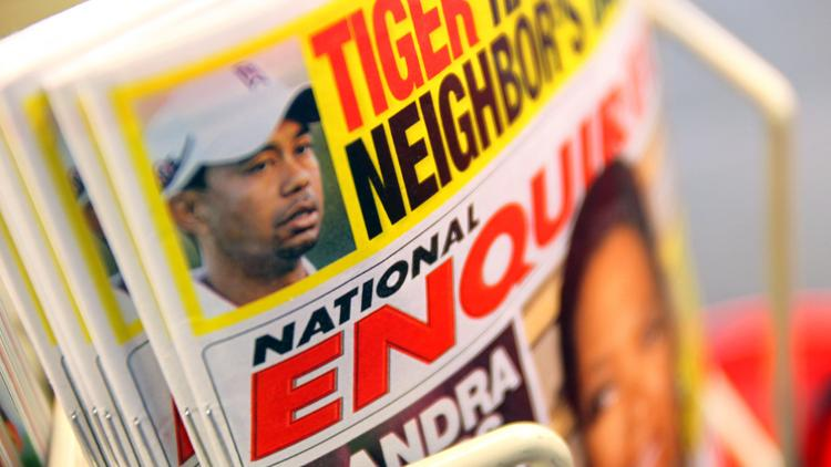American Media, Inc says the National Enquirer generates $100 million in revenue annually, the Wall Street Journal reports.