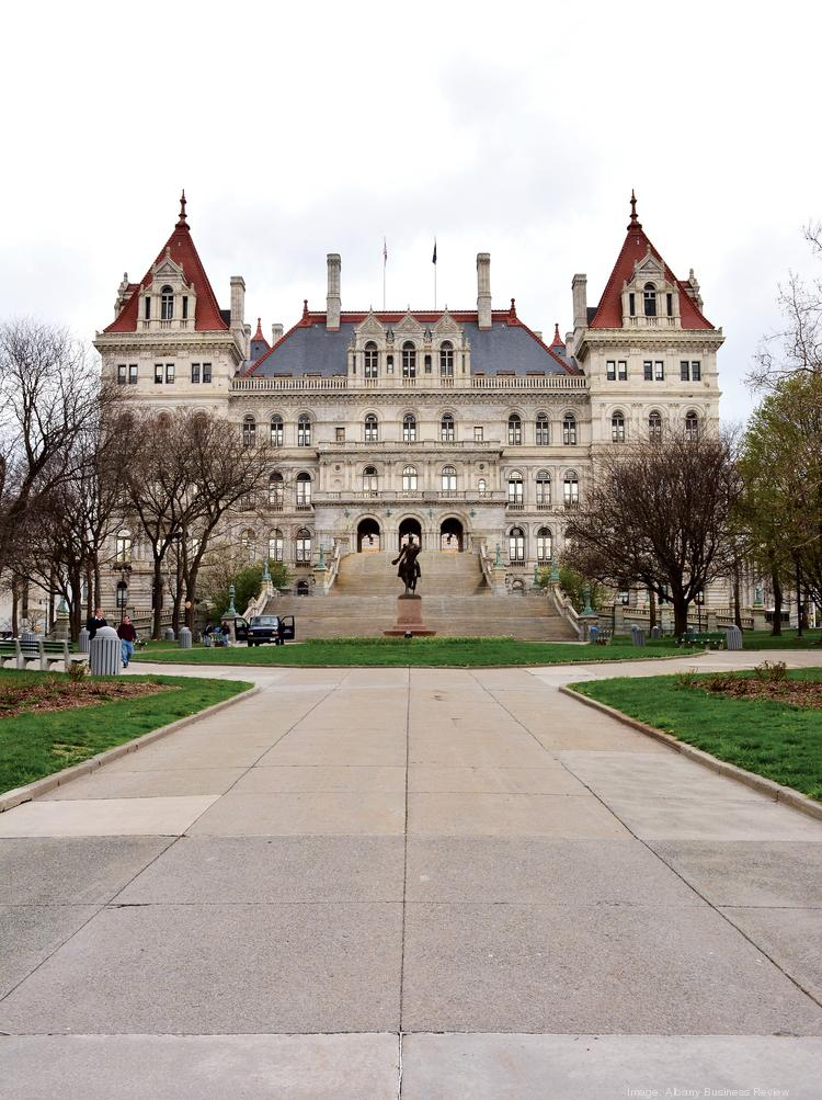During the struggle for political influence, health care trade groups and teachers unions paid among the highest sums to hire lawyers and lobbyists, who swarmed Albany, New York in 2013.