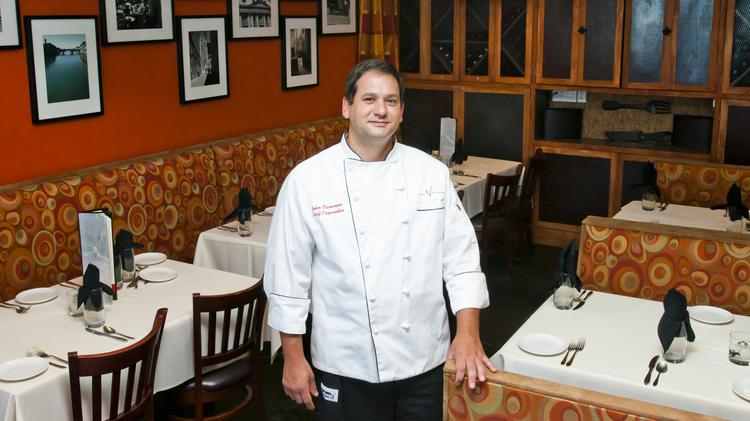 John Varanese is executive chef and founder of Varanese restaurant. Varanese said he expects a crowd for Mother's Day.