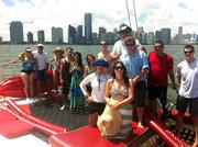 Spinnaker Group employees participated in a team-building activity