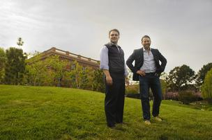Alex Tonelli and Sam Hodges' Funding Circle is among a host of startups plunging into small-business finance, hoping to give banks a run for their money.