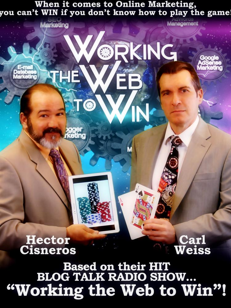 Authors and radio hosts Hector Cisneros and Carl Weiss.