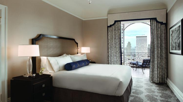 Long overdue for a makeover, the 107-year-old Fairmont San Francisco renovated its 591 guest rooms and suites this year. The increasing demand for hotel rooms and the boom in hotel room renovations around the city are driving room rates up.