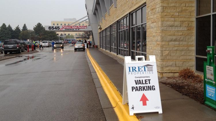 Southdale Medical Building is offering free valet parking in Edina for the next six months while it rebuilds and expands a parking ramp.