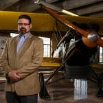 Kansas Aviation Museum's Lon Smith making KAM all it can be