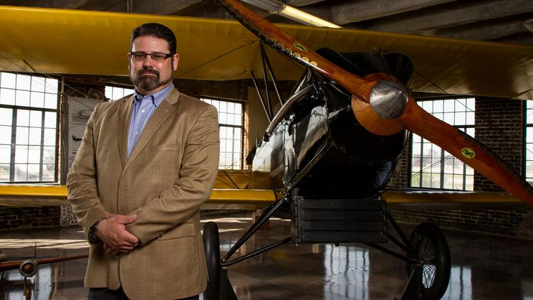 Lon Smith has been executive director of the Kansas Aviation Museum since 2008.