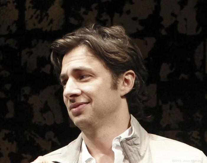 """Zach Braff has turned to Kickstarter to raise funds for a follow-up to """"Garden State."""""""