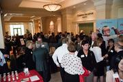 Networking at Wednesday's event.