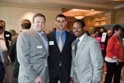 From left: Chris Robinette, Jared Wilson and James Horton, representing Captial Financial Group