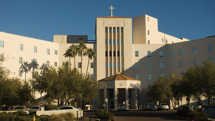 St. Joseph's Hospital and Medical Center in Phoenix.