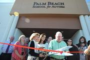 Palm Beach School for Autism opened a new, 22,500-square-foot building in October 2012.