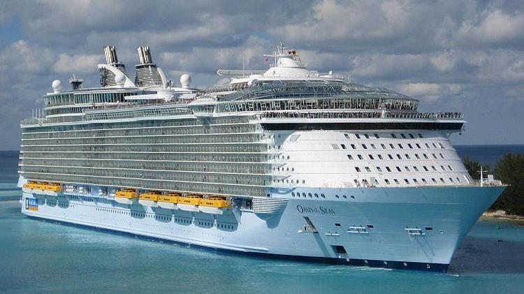 Oasis-class ships like Oasis of the Seas are the world's largest passenger ships.