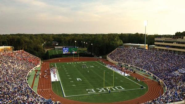 Duke University's Wallace Wade Stadium