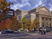 The Line DC hotel, to be located on Euclid and Champlain streets in Adams Morgan, will include the former First Church of Christ, Scientist and a new, seven-story addition. The owner was just issued a permit to build a model hotel room inside the church.