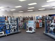 Radio Shack still plans to remodel roughly 100 stores to implement features from the company's concept stores.