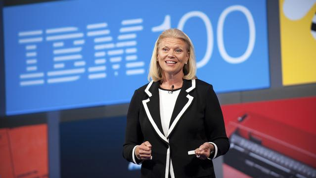 """Virginia """"Ginni"""" Rometty is the CEO of IBM."""