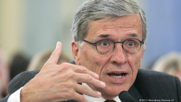 Tom Wheeler, FCC Chairman, is pictured. U.S. Rep. Bob Latta, R-Ohio, has proposed a bill that would block the FCC from classifying broadband providers as a public utility.