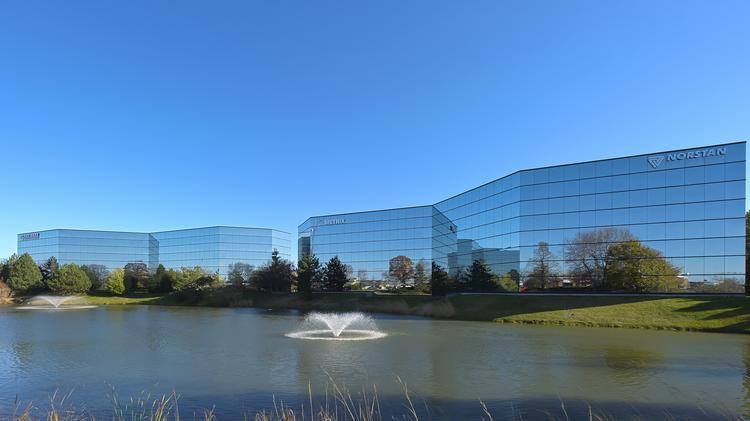 The Crossroads Corporate Center in the town of Brookfield near Waukesha.