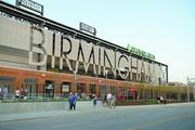 Regions Field cost $64 million to build on a 16 month track for construction. It opened April 10 to a sold-out crowd.