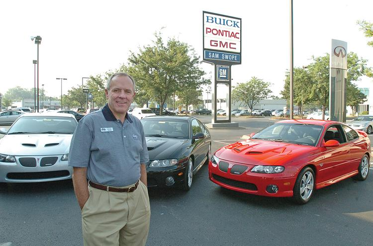 """Dick Swope, CEO of Sam Swope Auto Group LLC, said good used cars are """"very, very scarce."""" ____________________________________________      Top-selling auto brands in 2012 in the U.S. General Motors Co.: 2,595,717 Ford Motor Co.: 2,205,547 Toyota Motor Corp.: 2,082,504 Honda Motor Co. Ltd.: 1,422,785 Chrysler Group LLC: 1,641,480  Source   National Automobile Dealers Association"""