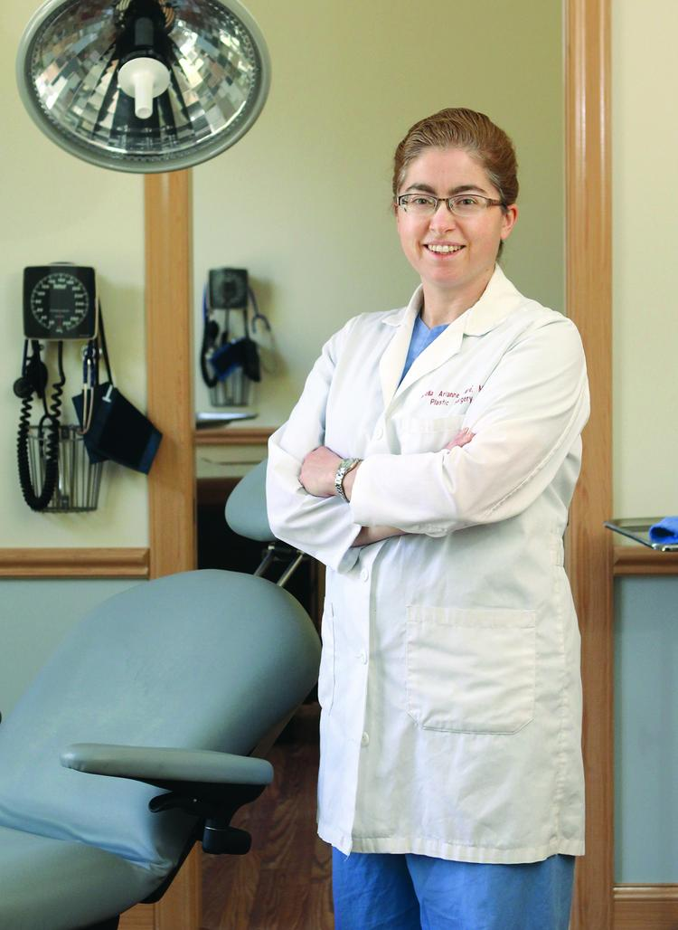 As president of the Allegheny County Medical Society, Dr. Amelia Pare is pressing Highmark and UPMC to resolve their differences.