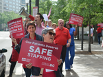 Nurse group releases report to help revive staffing bill