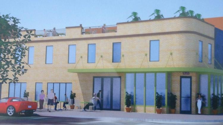 Rendering of The Spot on H, a restaurant going into 1255 H St. NE.
