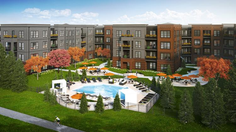 The $33.5 million project will now have 219 residential units in its buildings.
