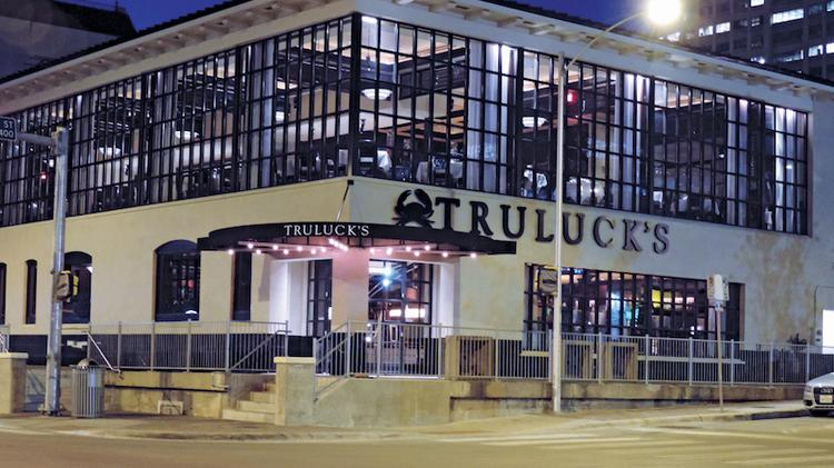 The downtown Austin Truluck's was remodeled with a second floor that takes advantage of skyline views. Click on the photo to see a several images at the remodeled Austin restaurant.