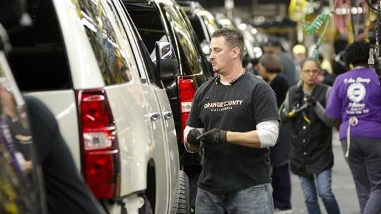 GM makes full-size SUVs at the Arlington Assembly Plant, which is now 60 years old.