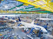 Boeing's final assembly line in North Charleston, South Carolina.