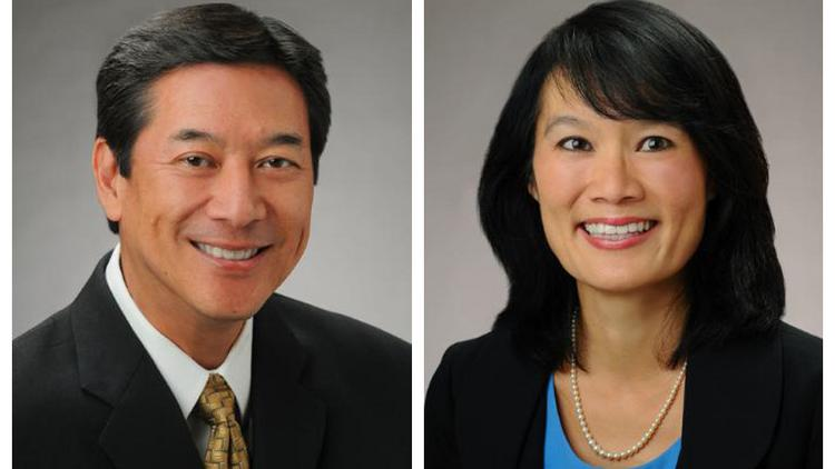 Lance Mizumoto and A. Catherine Ngo have been named co-presidents of Central Pacific Financial Corp. and Central Pacific Bank.