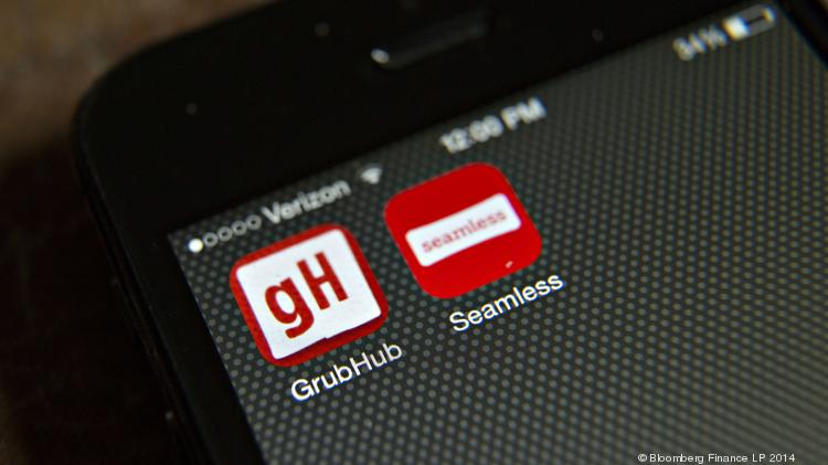 Grubhub Caviar Other Food Delivery Services Making Impact