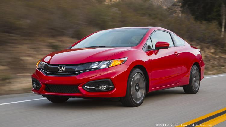 The Honda Civic was one of the automaker's top performers in a busy May sales month.