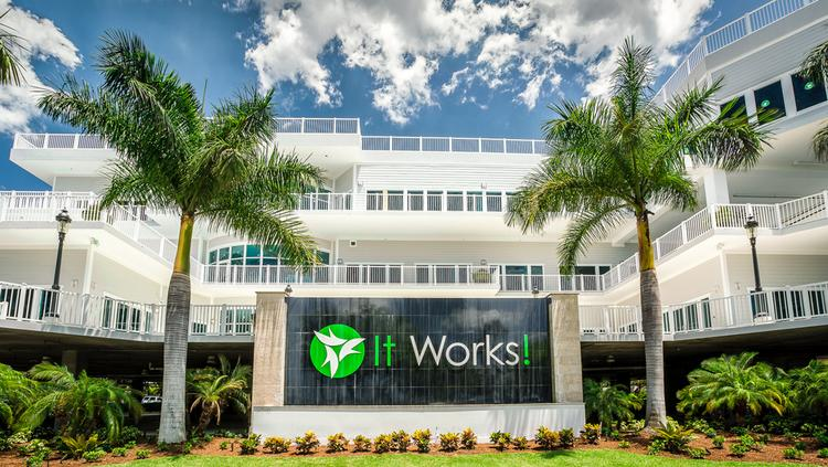 The new It Works! headquarters in Palmetto.