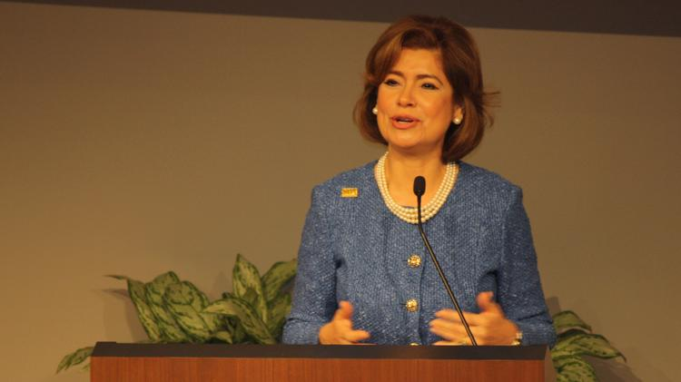 SBA Administrator Maria Contreras-Sweet visited Kansas City on Tuesday for the region's celebration of National Small Business Week.