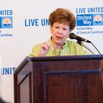 Jane McIntyre updates business leaders on United Way progress (PHOTOS)