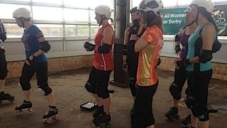 The Queen City Roller Girls will be on the move to the RiverWorks site in Buffalo.