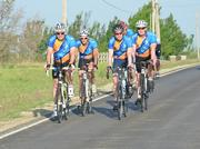 Spirit AeroSystems employees raised more than $58,000 for Tour de Cure, a bicycle race raising money for the American Diabetes Association.