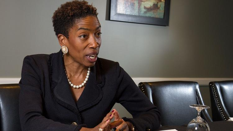 Carla Harris of Morgan Stanley and her pearls of wisdom