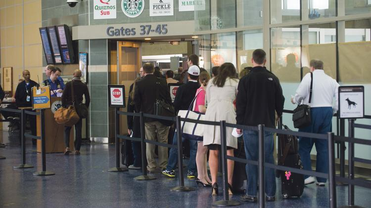 Travelers at KCI soon may be able to kill time in security check-in lines by playing Missouri Lottery games.