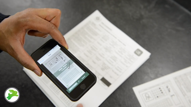 The Quick Key app allows teachers to grade quizzes faster and more accurately, according to its founders.