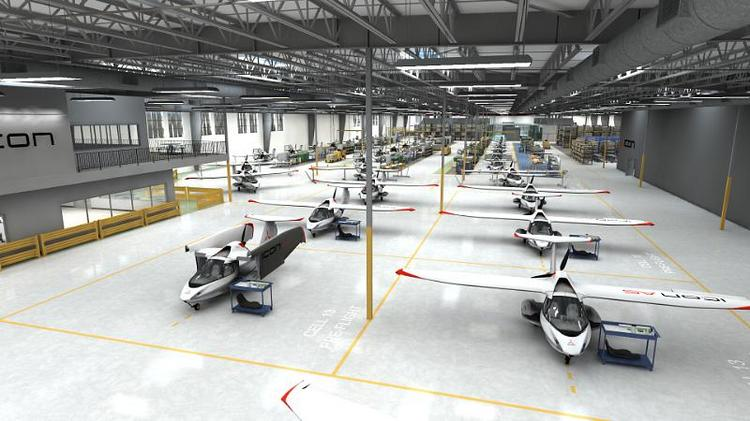 Icon Aircraft to move headquarters from Los Angeles to Nut