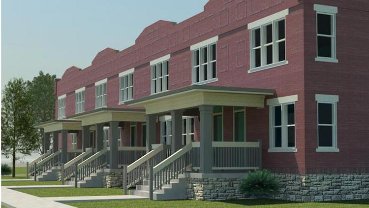 Wagenbrenner plans to get started on the renovation and restoration of a line of 23 row houses on East 11th Ave. into 90 apartments.